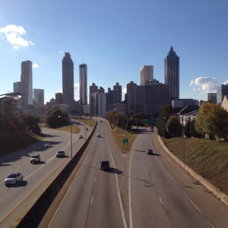 location the Walking Dead Atlanta