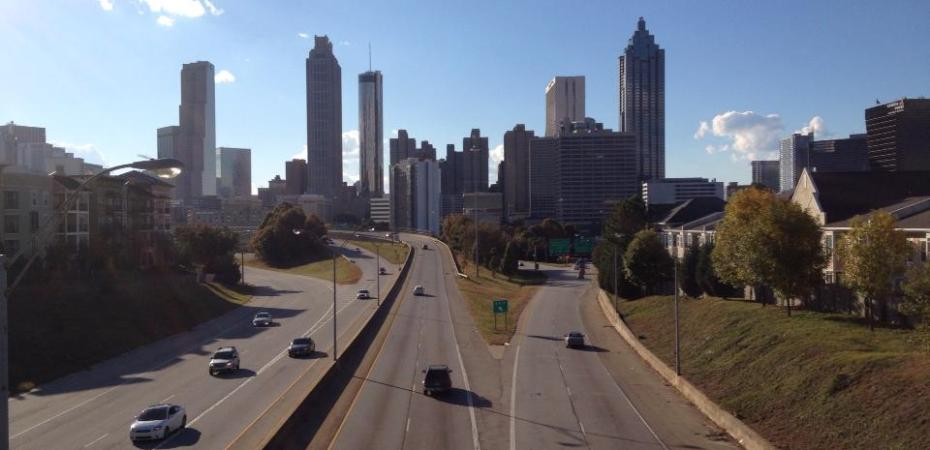 location the Walking Dead Atlanta