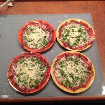 pizza con bresaola fatta in casa
